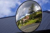 Panoramic mirror — Stock Photo