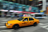 New York Yellow taxicab — Stock Photo