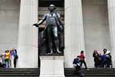 Federal hall di manhattan a new york — Foto Stock