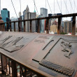 Brooklyn Brücke in Manhattan New york — Lizenzfreies Foto