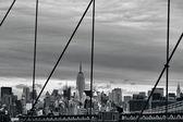 Empire State Building in Manhattan New York — Stock Photo