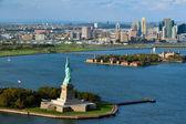 Statue of liberty New York Harbor — Stock Photo