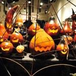 Halloween Carved Pumpkins — Stock Photo