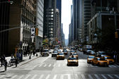 Sixth Avenue in Manhattan New York — Stock Photo
