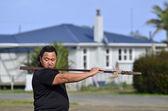 Mau Rakau - Martial Art — Stock Photo