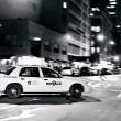 Yellow Taxicabs in ManhattNew York City — Stock Photo #30018469