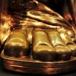 Statue of liberty foot — Stock Photo