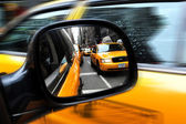 Yellow Taxicabs in Manhattan New York City — Stock Photo