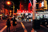 Chinatown in Manhattan New York — Stock Photo