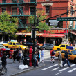 Columbus Avenue in Manhattan New York City — Stock Photo