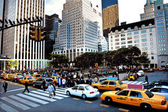 The Plaza in Manhattan New York City — Stock Photo