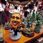 Barak Hussain Obama - 44th President of the United States — Stock Photo #30347003