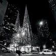 St. Patrick's Cathedral in Manhattan New York City — Stock Photo