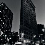 flatiron byggnad i manhattan new york — Stockfoto