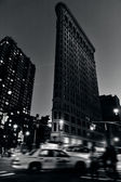 The Flatiron building in Manhattan New York — Stock Photo