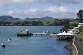 Mangonui harbor in Northland New Zealand — Stock Photo