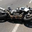 Motorbike Accident — Stockfoto