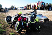 Accidentes de coche en israel — Foto de Stock