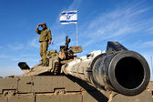 Israel Army Tank — Stock Photo