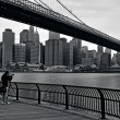 Brooklyn Bridge in Manhattan New York City — Stock Photo