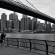 Brooklyn Bridge in Manhattan New York City — Stock fotografie