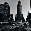 Flat Iron building in ManhattNew York City — Stock Photo #30698673