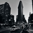 Stock Photo: Flat Iron building in ManhattNew York City
