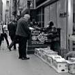 Постер, плакат: News stand in New York City
