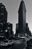 Flat Iron building in Manhattan New York City — Stock Photo