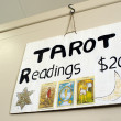 Tarot card reader  — Stockfoto