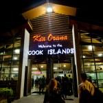 Rarotonga International Airport - Cook Islands — Stock Photo