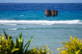 Port of Avatiu in Rarotonga - Cook Islands — Stock Photo