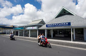 Rarotonga International Airport - Cook Islands — Stock Photo