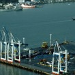 Ports of Auckland in Auckland New Zealand NZ — Stock Photo