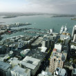 Auckland CBD Cityscape - New Zealand NZ — Stock Photo