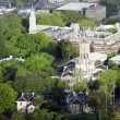 Stock Photo: Aerial view of University of Auckland New Zealand NZ