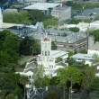 Aerial view of University of Auckland New Zealand NZ — Stock Photo