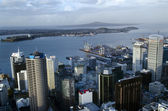 Auckland CBD Cityscape - New Zealand NZ — Foto Stock