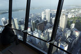 Sky Tower - Auckland New Zealand NZ — Stock Photo
