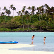 Stock Photo: Muri Lagoon in RarotongCook Islands