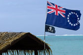 Flag of the Cook Islands — Stok fotoğraf