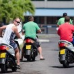 Transportation in Rarotonga Cook Islands — Stock Photo #33705207