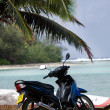 Transportation in Rarotonga Cook Islands — Stock Photo #33705327