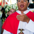 Stock Photo: Saint Josephs Cathedral in RarotongCook Islands