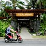 Transportation in Rarotonga Cook Islands — Stock Photo