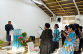 The Methodist Church Of Fiji and Rotuma in Rarotonga Cook Island — ストック写真