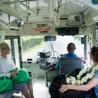 Transportation in Rarotonga Cook Islands — Foto Stock