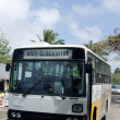 Transportation in Rarotonga Cook Islands — Stock Photo