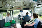 Transporte em rarotonga cook islands — Fotografia Stock