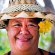 Cook Islander Woman — Stock Photo